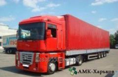 Доставка грузов из Германии и Франции в Украину