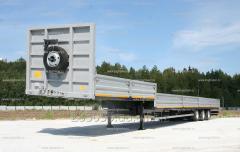 Перевозка тралами негабаритных грузов.