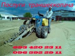 Выемка грунта импортной мини техникой