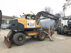 Rent Excavator wheel VOLVO EW160C