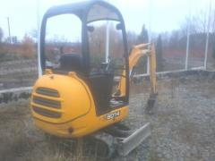 Movement of soil on the site pass the equipmen