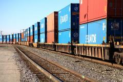 Railway cargo transportation in Ukraine
