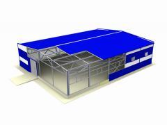 Строительство зданий промышленного назначения БМЗ