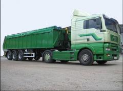 Transportation of agricultural production