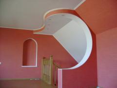 Plasterboard works