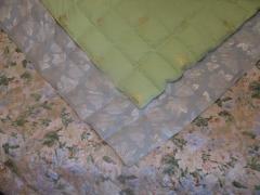Пошив, реставрация шерстяных одеял.