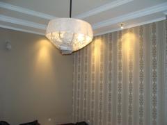 Обивка(драпировка)стен и потолков тканью стеновые панели