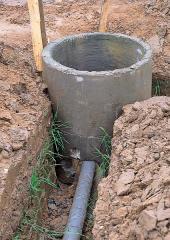 Прокладка и ремонт наружной канализации
