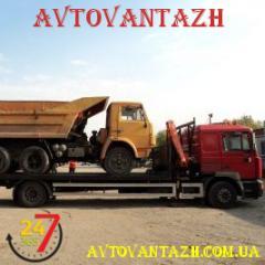 Евакуація вантажного транспорту