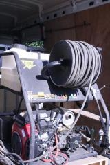 Гидродинамическая прочистка труб, канализации до 1500 мм.