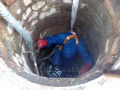 Обслуживание канализационных колодцев ремонт восстановление промывка очистка