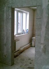 Алмазная резка проёмов, штроб, ниш без пыли в бетоне, кирпиче. Демонтаж стен, перегородок. Харьков и обл.