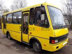 Recovery body repair of buses Standard city