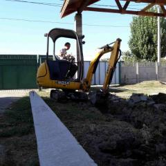 Let's perform complex earthwork the compact