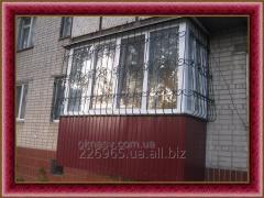 Балкон первый этаж. Пристройка балкона.