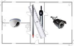 Design of systems of video surveillance