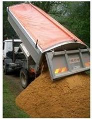 Доставка песка речного