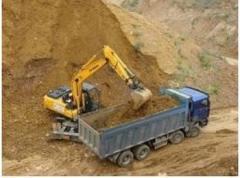 Доставка песка горного