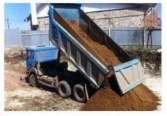 Доставка грунта на подсыпку
