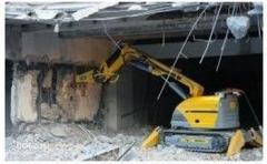 Демонтаж бетонного перекрытия