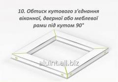 Compression of a corner