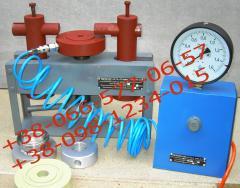 Setup of the SPPK safety valve. Adjustment of