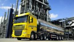 Transportation of liquid chemicals
