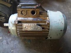 Repair of electric motors of a foreign origin