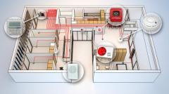 Design of installations of the fire alarm system,