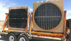 Repair of radiators of cooling for excavators