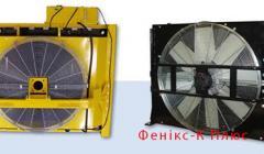 Repair of radiators of cooling for diesel
