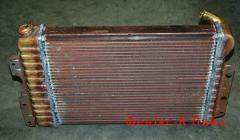 Production of radiators of cooling for loaders