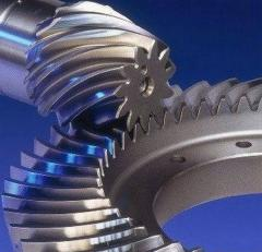 Production of conic gear wheels
