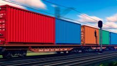 Услуги железнодорожных грузовых перевозок и автомобильных перевозок.