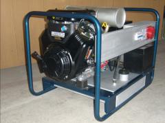 Rent of the diesel generator of 16 kW 3f
