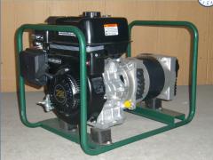 Rent of the gasoline-driven generator 3,5kvt 1f