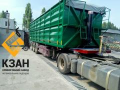 Re-equipment of the Semi-trailer in the