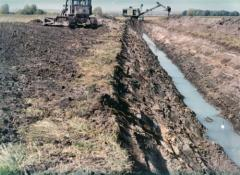 Drainage and irrigation of lands