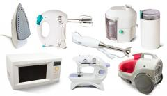 Repair of small household appliances