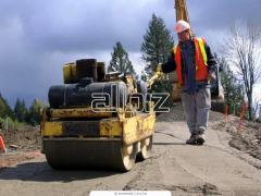 Repair services for the roadbuilding equipment