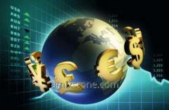 For the development of business Credits