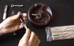 Чистка курительных трубок из бриара и других видов дерева