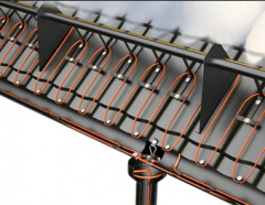 Heating of roof