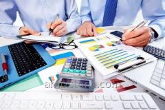 Services of short-term financing of projects