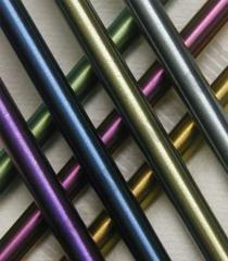Anodizing of a pipe