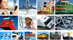 Services of transport and forwarding agencies in