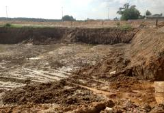 Developments of construction ditches