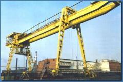 Repair of the gantry crane