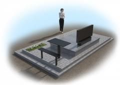 Создание 3D макетов памятников 3