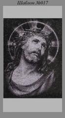 Художественное Оформление памятника Иисус
